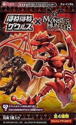 全新 KABAYA 盒玩 骨頭龍系列X魔物獵人單賣第二款綠恐龍