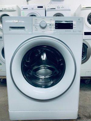 洗衣機(大眼仔) 新款大容量 1400轉 7kg 惠而浦 98%新 FFCR70420 免費送貨及包保用