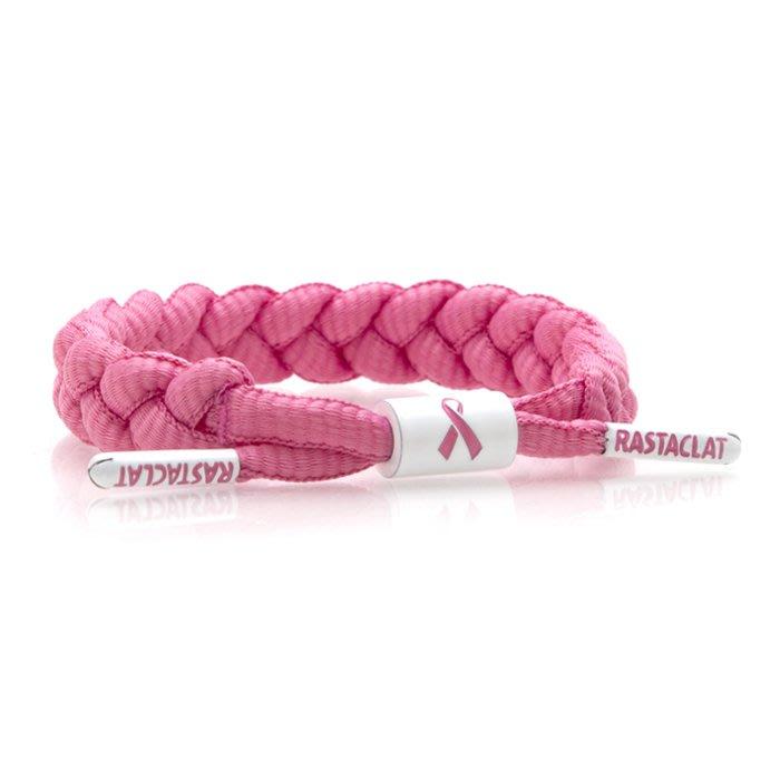 RASTACLAT - 粉紅色美國癌症協會聯名 乳癌防治公益手環-潮流 滑板 搖滾 衝浪