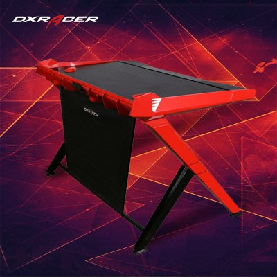 DXRACER遊戲電腦桌台式電競折疊桌家用辦公桌子書桌簡約