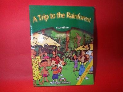 【愛悅二手書坊 02-01】A Trip to the Rainforest Jenny Dooley/著