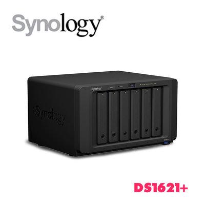 「Sorry」✦免運✦Synology 群暉 DS1621+ 6Bay NAS 四核 4G ECC 網路儲存伺服器