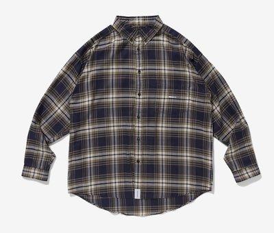 Descendant HYANNIS B.D LS SHIRT FULL SIZE 襯衫。太陽選物社