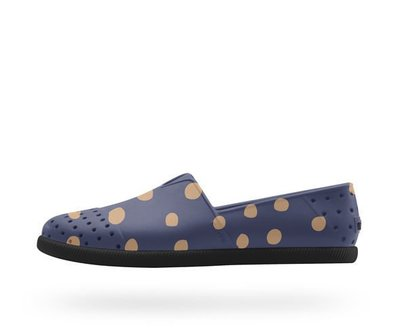 【URA 全新 】士林經銷 Native VERONA REGATTA BLUE  POLKA DOTS 超輕量 奶油底 懶人鞋 現貨
