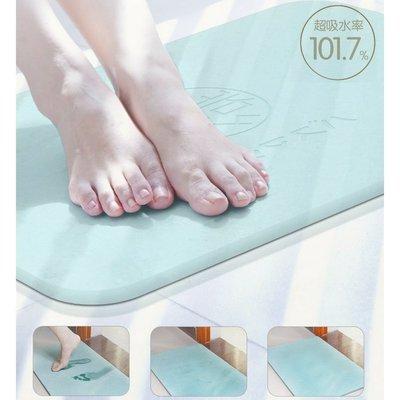 浴室防滑吸水地墊