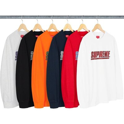【紐約范特西】預購 Supreme SS20 Studded L/S Top 長tee