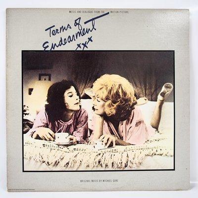 電影配樂  Terms of Endearment【親密關係 】美國首版黑膠唱片 1983年