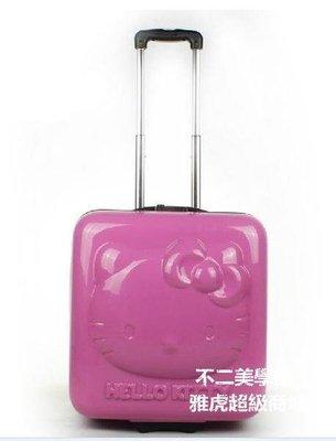 【格倫雅】^hellokitty品牌PC+ABS拉桿箱 凱啼貓行李箱 18寸MWJqb