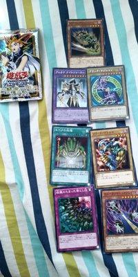 限定 特典 遊戲王YU-GI-OH- 金字 閃卡,咭 三幻神 天空龍黑魔導士