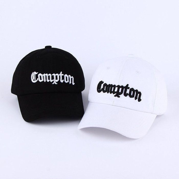 FIND 韓國品牌棒球帽 男女情侶 時尚街頭潮流 Compton字母刺繡 帽子 太陽帽 鴨舌帽 棒球帽