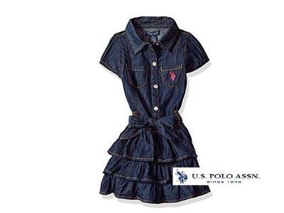 美國正品 US POLO ASSN  女童 連身洋裝 / 6X
