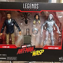 Hasbro Marvel Legends Series Ant-Man & the Wasp X-Con Luis & Marvel's Ghost 6""