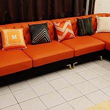 楴傢 傢俱 清奢華 大型款 L型沙發 真皮沙發 年終特價 39800 僅此一組