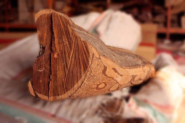 檀木【和義沉香】《編號CR01》澳洲黃金檀木大型原木重油氣味清香可作傢俱 雕塑雕刻上選