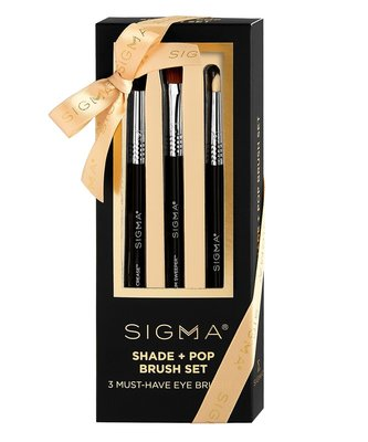 Sigma Shade + Pop Brush Set 眼部套刷 禮盒【愛來客】美國Sigma官方授權經銷商