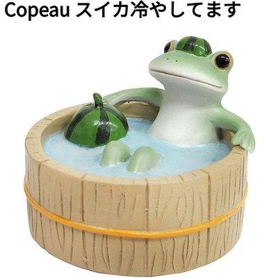 萌貓小店 日本直送- Copeau 精品擺設Copeau スイカ冷やしてます