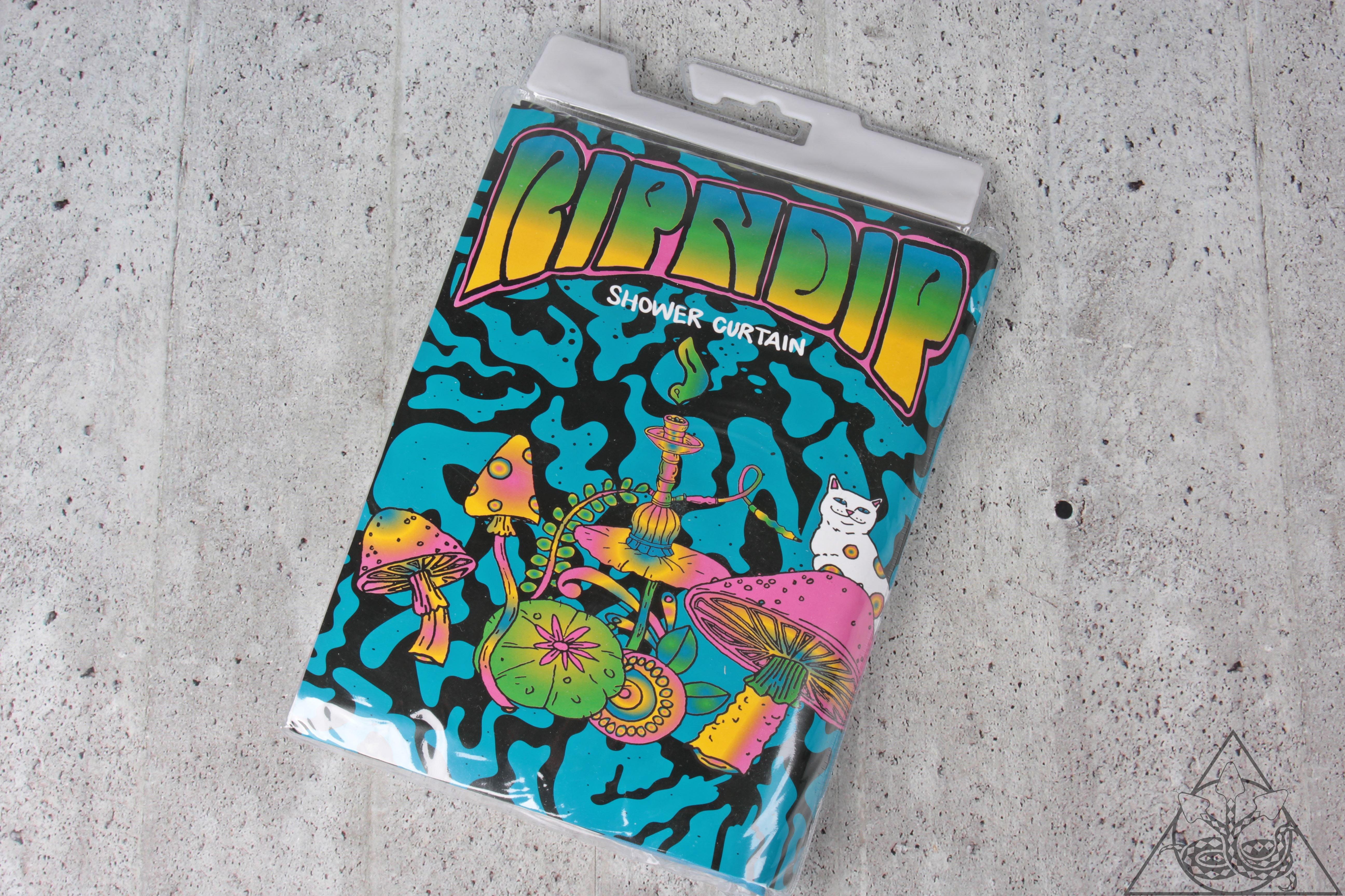 【HYDRA】Ripndip Psychedelic Shower Curtain 浴簾【RNP076】