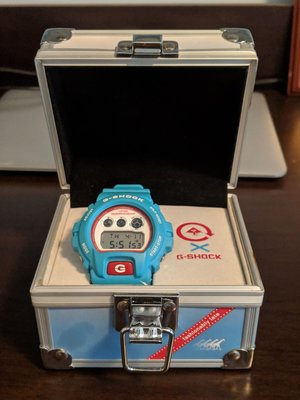 Casio G-Shock x LRG DW-6900LRG-2AJR (Light Blue)