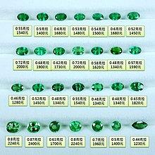 【凱兒寶石】 (新到貨)天然沙佛萊 色彩濃郁 淨度高 火光美 請以圖片實際金額下標 圖片都有價錢 如2600請下標26個