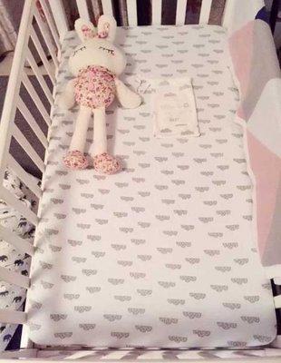 獨家定制INS爆款cotton寶寶全棉床笠嬰兒床單新生兒純棉床罩北歐