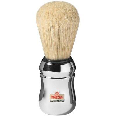 義大利製 Omega 10083 刮鬍刷 純豬鬃毛