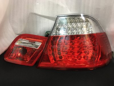 BMW E46雙門 LED 右後尾燈