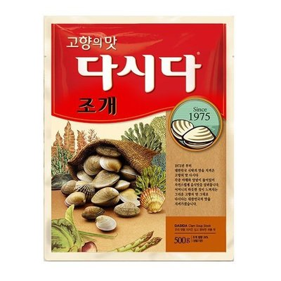 韓國 CJ 大喜大韓式調味料  蛤蜊風味 調味粉 蛤蜊粉 海鮮粉 500G