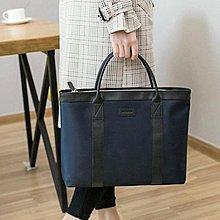 公事包 手提文件袋A4拉錬袋防水公文包 男女士商務辦公會議袋 資料袋電腦包全館免運