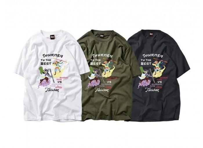 { POISON } LESS JOURNEY TO THE WEST TEE 西遊記圖像
