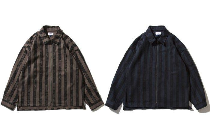 { POISON } DeMarcoLab D3L OVERDYED SHIRT JKT 訂製滿版印花 寬版襯衫式夾克