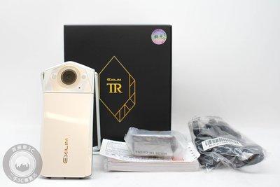 【台南橙市3C】Casio TR80 TR-80 白 二手自拍神器 二手TR 公司貨 美顏相機 #56858