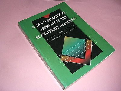 古集二手書Q ~A Mathematical approach to economic analysis Peter Toumanoff 0314028188