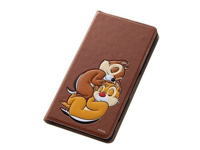 尼德斯Nydus~* 日本正版 Disney 迪士尼 奇奇 蒂蒂 翻頁式 手機殼 Sony Z3 座充對應ok