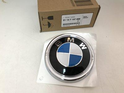 BMW X5 E70 06- 後箱蓋圓標 後廂蓋 標誌 尾門 後行李箱 M.K (BMW原廠貨) 51147157696
