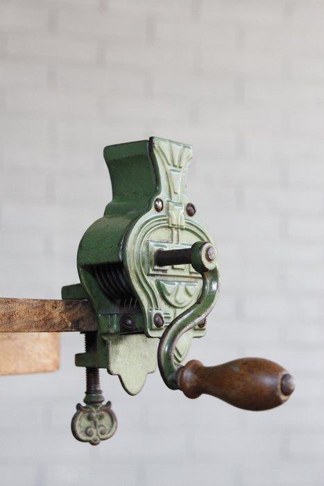 德國古董切片器/切豆器 歐洲古董老件(03_W-40)【小學樘_歐洲老家具】
