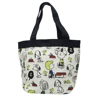 Snoopy with friends tote bag 迷你手提包 日本原裝正品