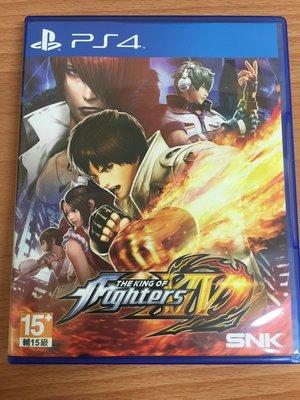 PS4 拳皇 XIV KOF 14 繁體中文版 二手 可取貨付款