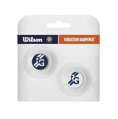 【曼森體育】Wilson 法網 限定版 避震器 Roland Garros 藍白 Dampeners