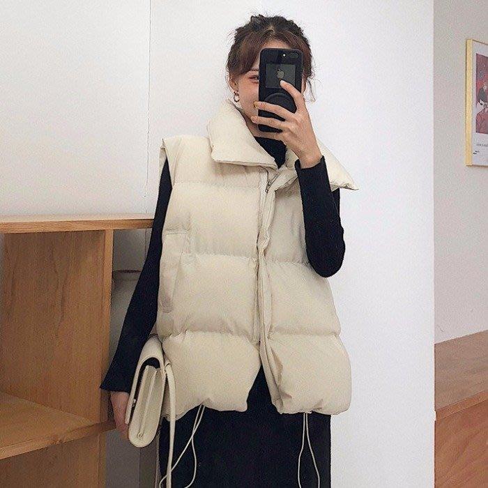 棉衣服馬甲女2018新款韓版學生寬鬆手賽棉面包服ins加厚外套秋冬