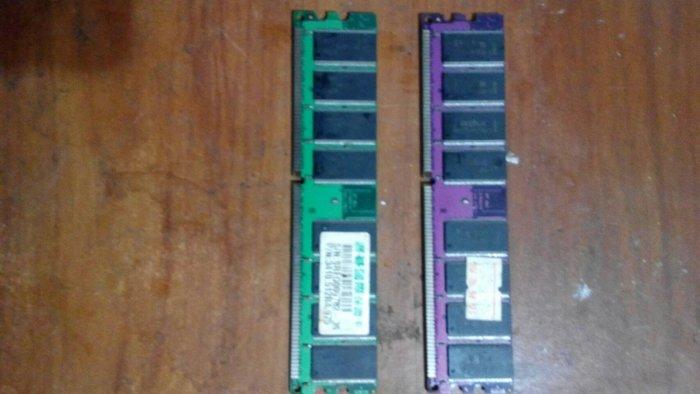 【中原電腦】中古二手/DDR/外頻400MHz/512MB/廠牌隨機/保固7日/特價品數量有限 售完為止