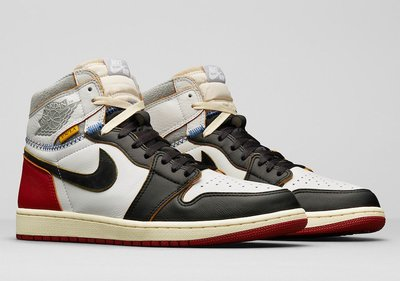 【美國鞋校】預購 Jordan 1 Retro High Union Los Angeles Black Toe 一代