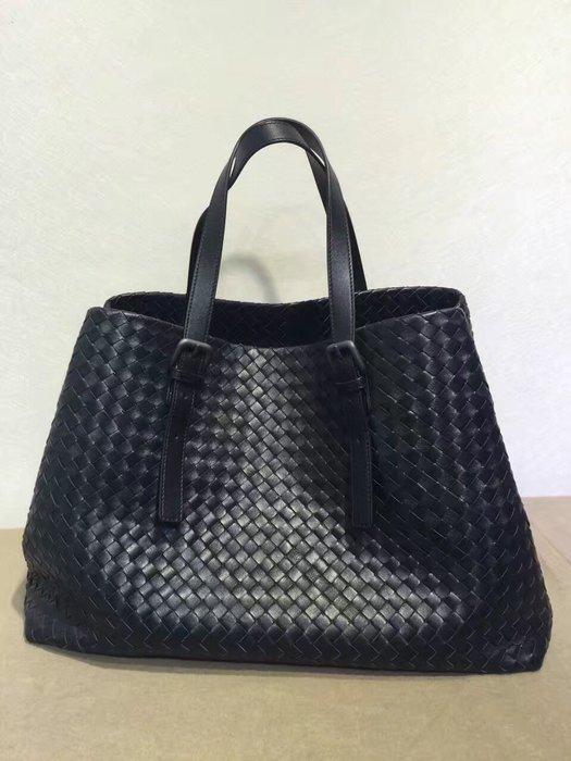 【編織之王】低調奢華小羊皮純手工編織肩背包/購物袋shopping bag ,912#