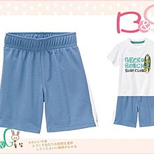 【B& G童裝】正品美國進口GYMBOREE Mesh Athletic Short 藍色排汗運動短褲2yrs