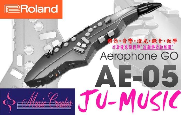 造韻樂器音響-JU-MUSIC- Roland AE-05 Aerophone GO 數位 薩克斯風 AE05 電子吹管