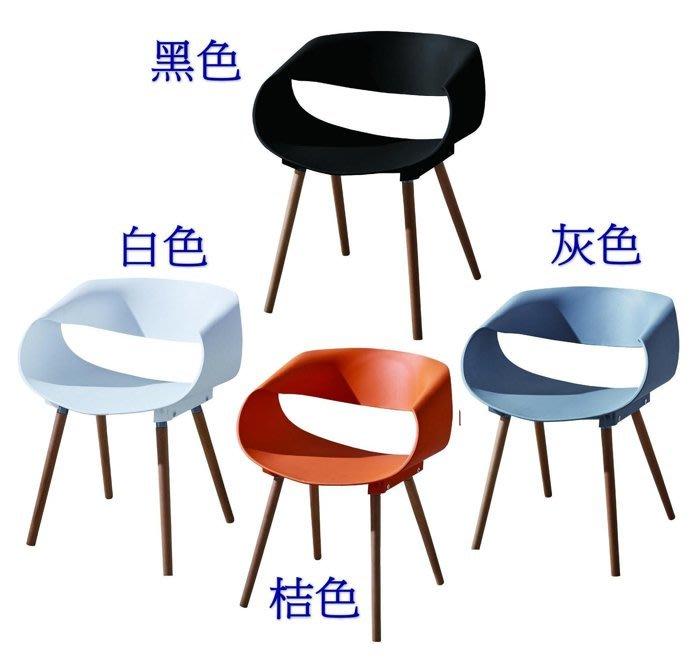 【DH】商品編號N488商品名稱亞琪休閒椅(圖一)備有黑色.灰色.桔色.白色.四色可.主要地區免運費