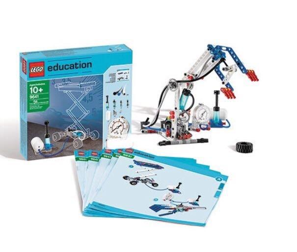 LEGO-Lt9641-Education系列-動力機械組空氣動力套件