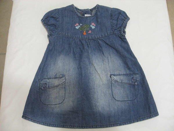 H&M 牛仔純棉小童洋裝