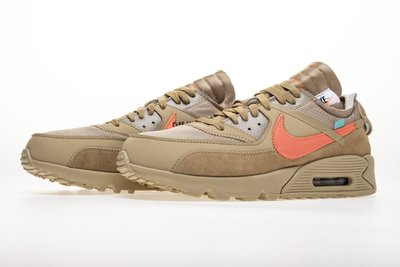 Nike Air Max 90 OFF WHITE Desert AA7293-200 卡其橘 沙漠 沙色