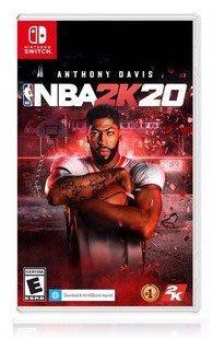 ps4遊戲任天堂NS Switch 游戲二手 NBA 2K20美國職業NBA 2K20 籃球 中文