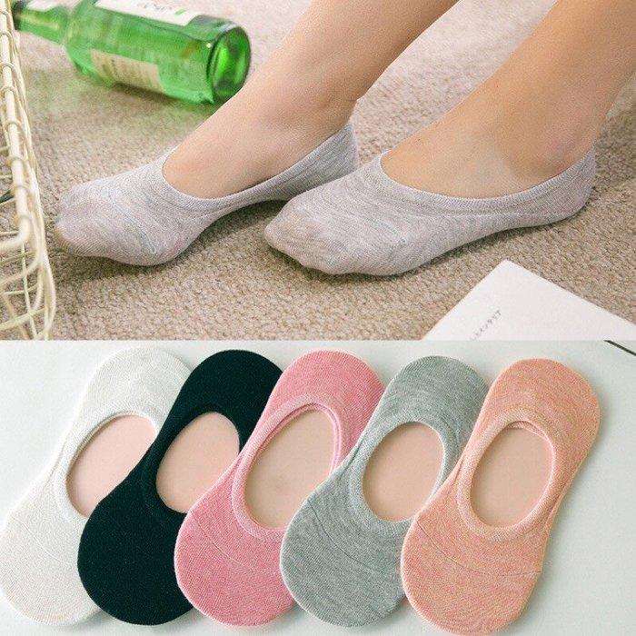 熱銷 韓國 春夏 隱形襪 襪子 女襪 白色 灰色 黑色 橘色 粉色【CH-05A-50007】